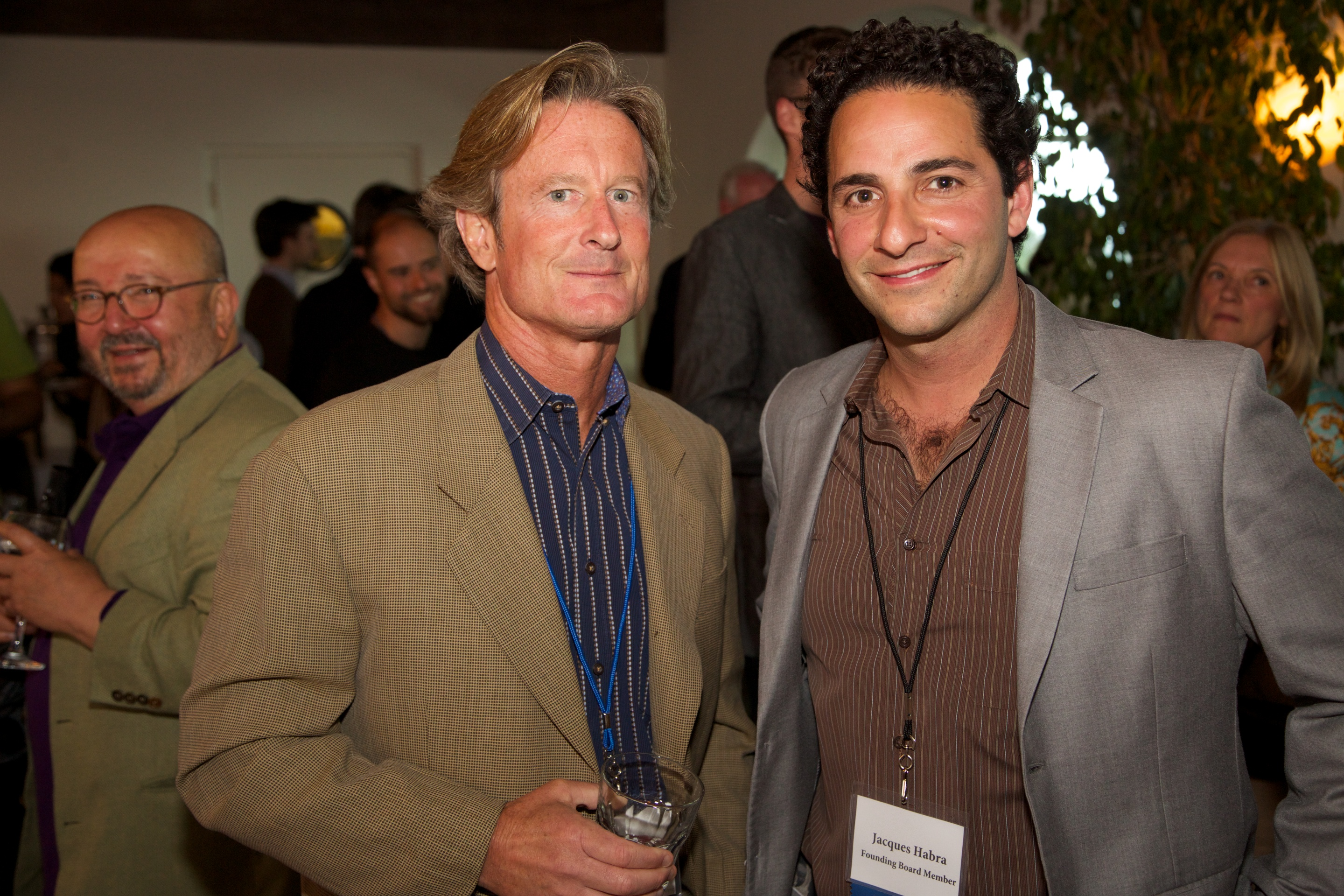 Kevin O'Connor and Jacques Habra at Mentorship Works Networking Event