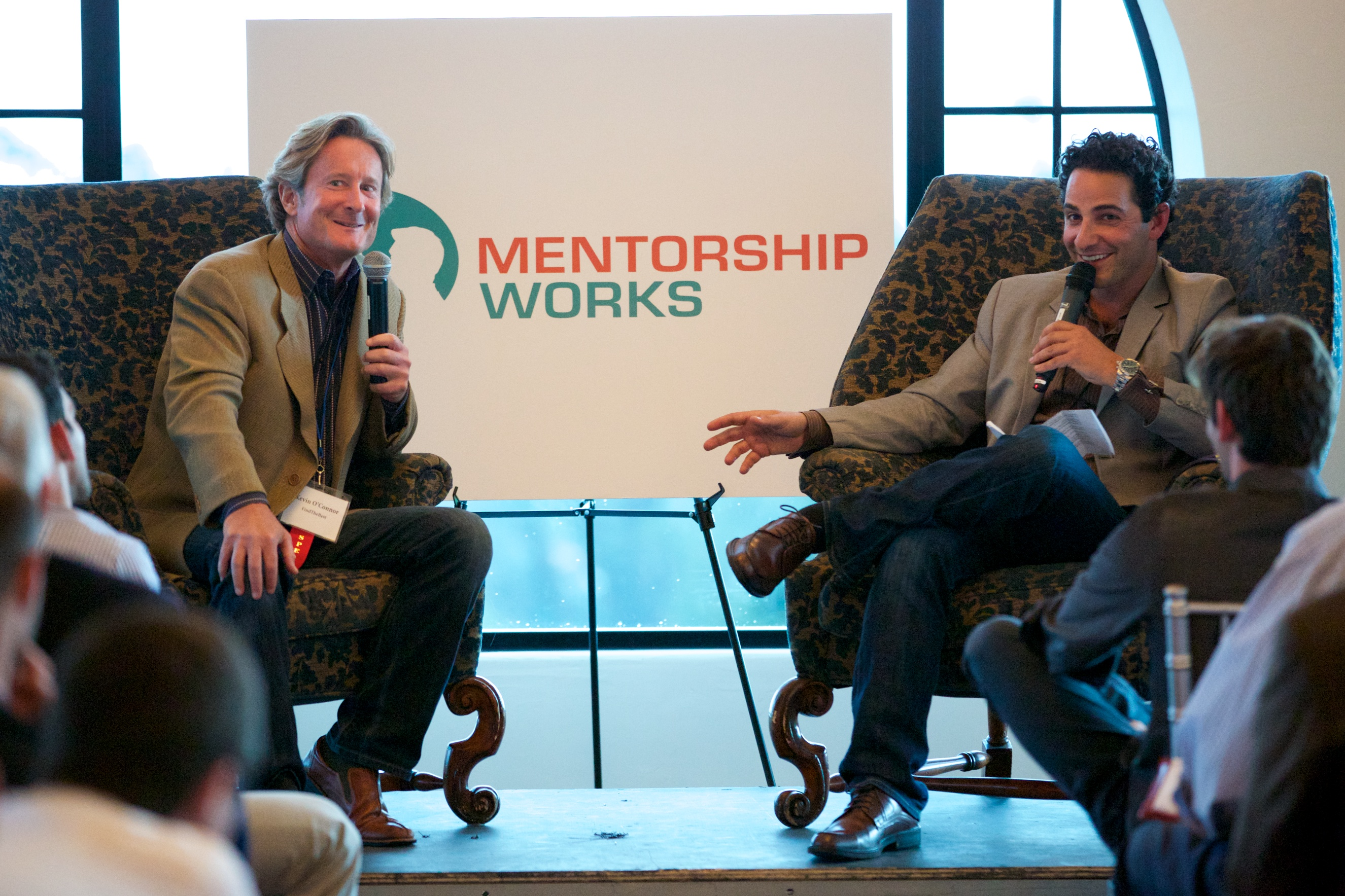 Jacques Habra and Kevin O'Connor Discussing Mentorship