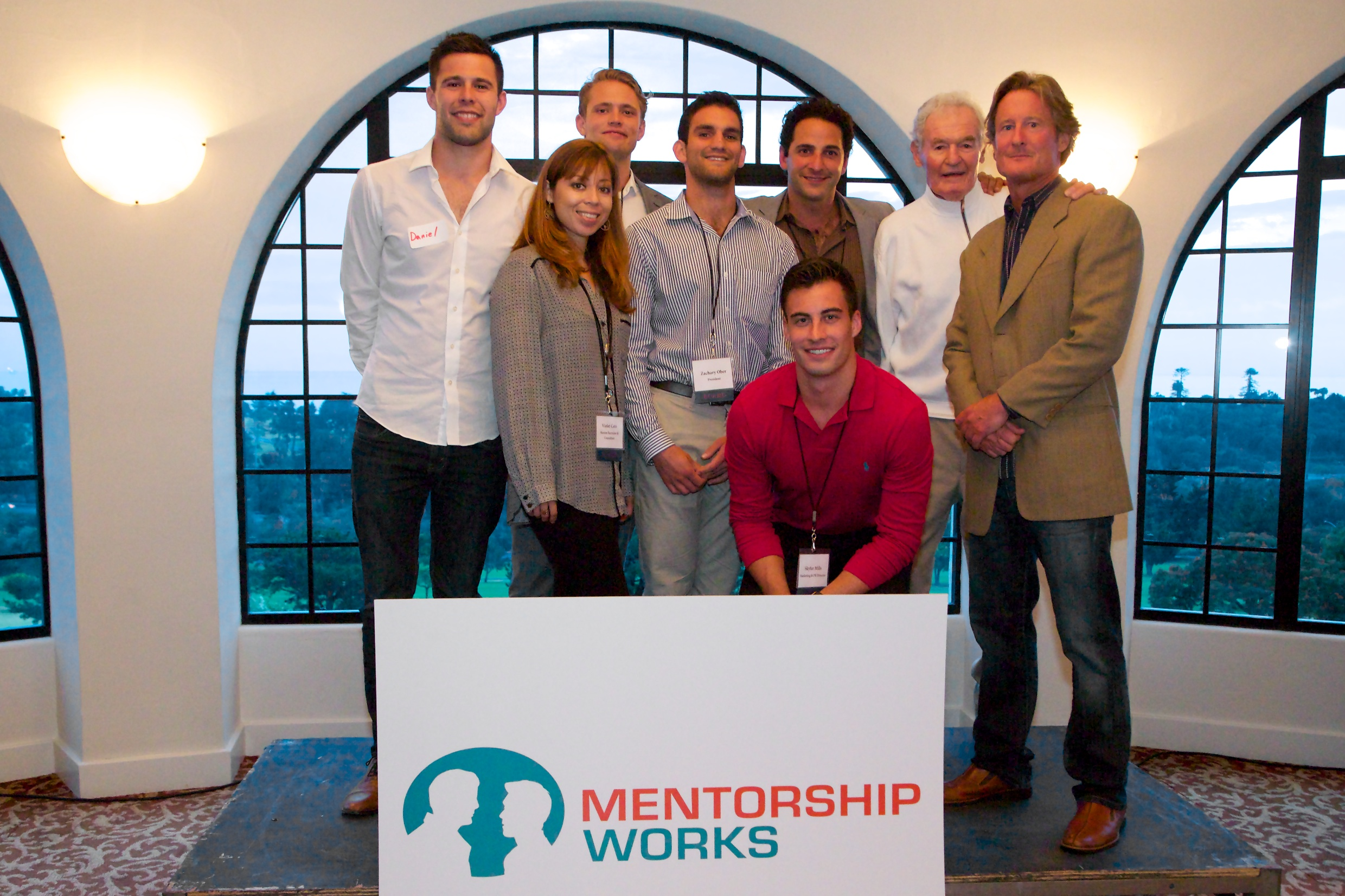 Mentorship Works Board and Kevin O'Connor group photo