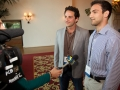 Two Entrepreneurs at Mentorship Works Networking Event Interviewed